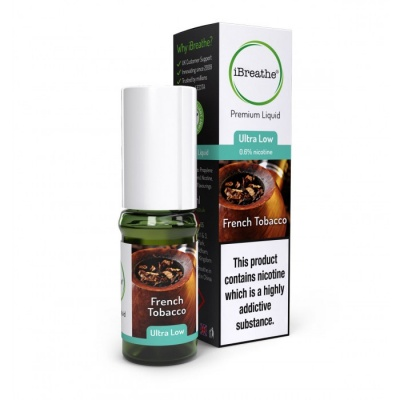 FRENCH TOBACCO iBreathe Premium E-Liquid 10ml